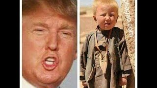 "Donald Trump lookalike name is ""Dawood Ibrahim Khan"" and was born in Afghanistan"