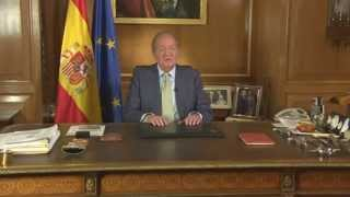 King of Spain Juan Carlos abdicates the throne in a surprise announcement