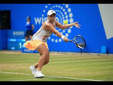 2017 Aegon Classic Quarterfinals | Barty vs Giorgi | WTA Highlights