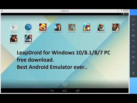 any noticeable android emulator for pc windows 7 32 bit free download the