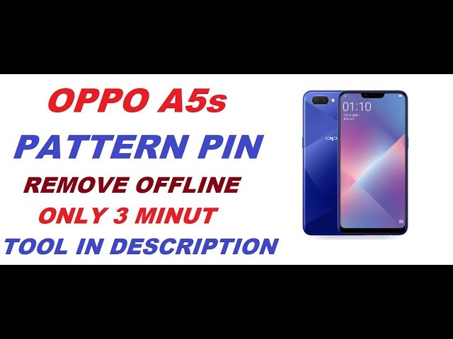 Oppo A5s Pin Pattern Frp Remove No Need TeamViewer Just