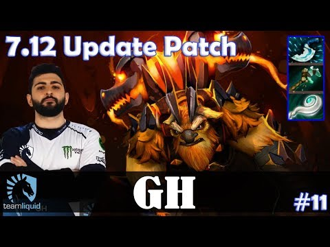 GH - Earthshaker Offlane | 7.12 Update Patch | Dota 2 Pro MMR Gameplay #11