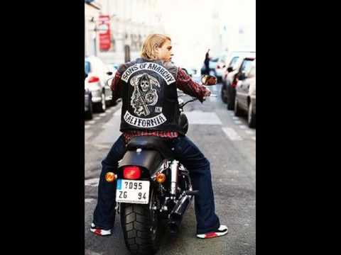 sons of anarchy leather vest youtube. Black Bedroom Furniture Sets. Home Design Ideas