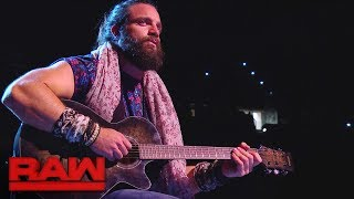 Elias debuts a new ballad: Raw, Jan. 15, 2018