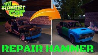 REPAIR HAMMER - My Summer Car #84 (Mod)