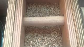Molino casero de piedra para cereales
