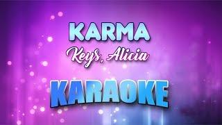 Keys, Alicia - Karma (Karaoke version with Lyrics)