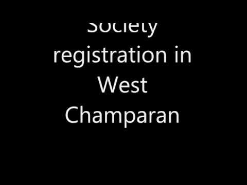 Society registration in West Champaran-8540099000