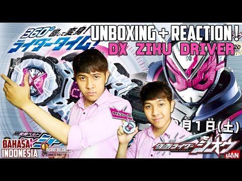 UNBOXING + REACTION ! DX ZIKU DRIVER / ジクウドライバー  [Kamen Rider Zi-O] - [Bahasa Indonesia]