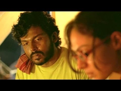 Yuganiki Okkadu Scene - Snakes Attack On Anitha And Karthi Team - Karthi, Reema Sen, Andrea Jeremiah
