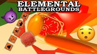 [NUOVI ELEMENTI!] Esplosione Element Demonstrate (Showcase) Campo di battaglia Elementale Roblox