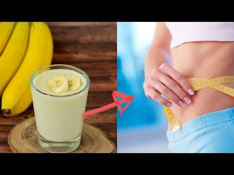 Perdre du poids grâce au smoothie à la banane - Sante Naturelle & Nutrition