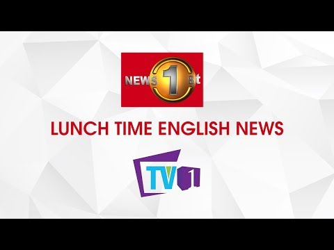 News 1st: Lunch Time English News | (27-03-2020)