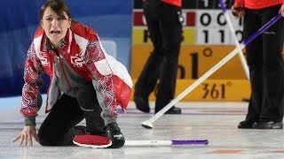 CURLING: RUS-CAN World Women