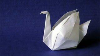 Origami: Cisne Iso Area - Hogar Tv  por Juan Gonzalo Angel
