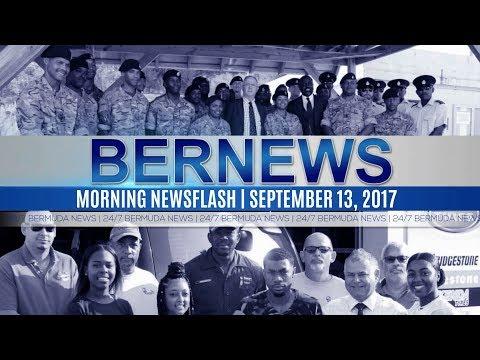 Bernews Morning Newsflash For Wednesday, September 13, 2017