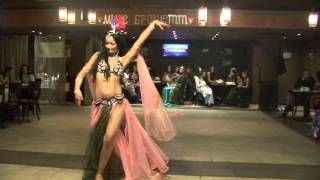 Виктория. Восточный танец.