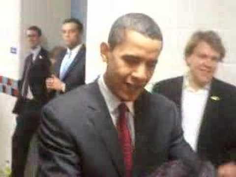 Barack Obama in Alexandria, Virginia