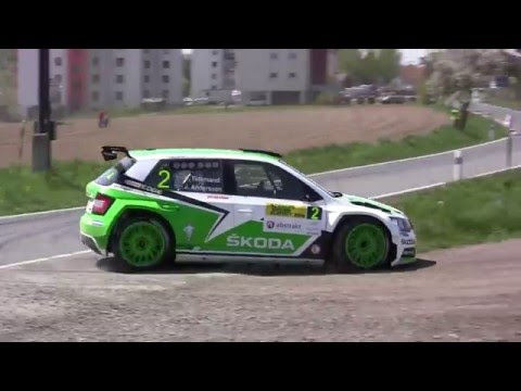 Rallye Šumava Klatovy 2016 | 2 | Pontus Tidemand - Jonas Andersson