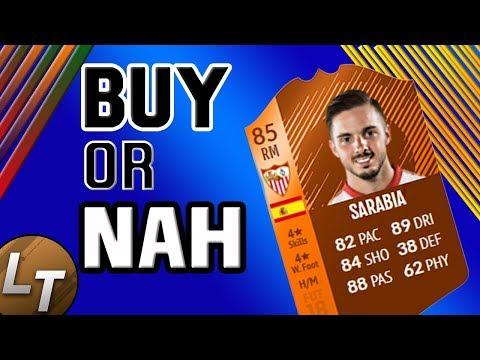 MOTM Sarabia Player Review!  |  Buy or Nah  |  FIFA 18 Player Review Series thumbnail