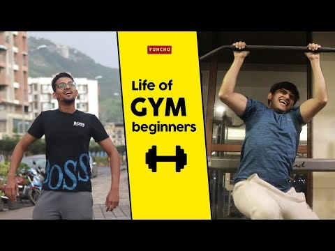 Life of Gym Beginners | Funcho thumbnail