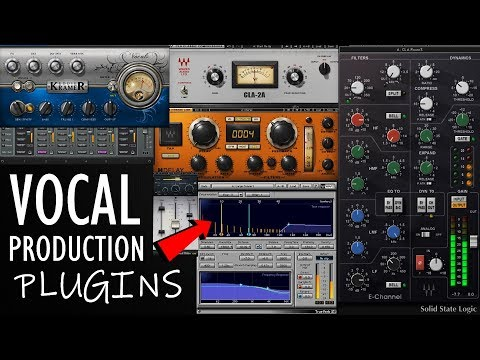 TOP 5:  Best plugins for vocal production | editing and mixing vocals 2018