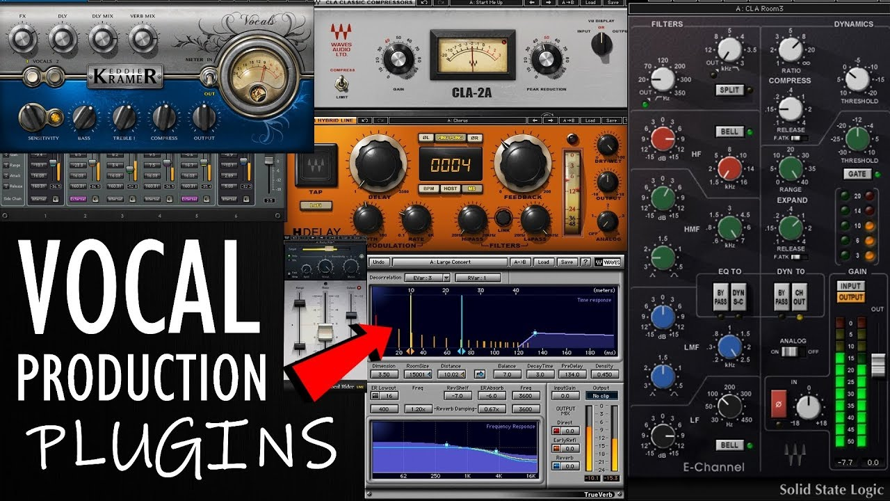TOP 5: Best plugins for vocal production | editing and mixing vocals 2019