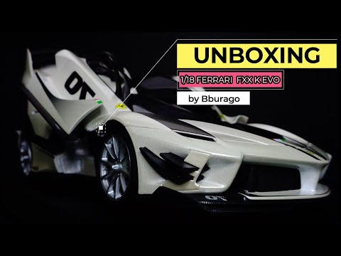 UNBOXING | Bburago 1:18 Ferrari FXX K Evo (with Fun Facts and Photo Gallery)