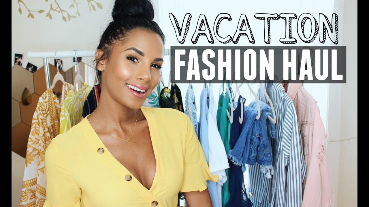 4806e746f3f Summer Vacation Fashion Haul
