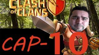 En Directo en COC = clash of clans - Episodio 10 - Farmeando Y Viendo Aldeas