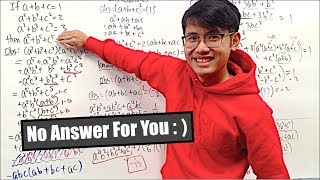 Extreme Algebra Question  (#patience)