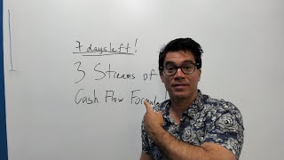 7 days left: 3 Streams Of Cash Flow Formula! 🔥💵