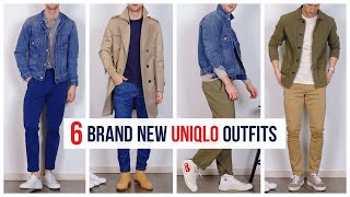 6 Easy Uniqlo Outfits for 2020 | Men's Fashion | Outfit Inspiration