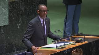74th UN General Assembly | Statement by President Kagame | New York, 24 September 2019