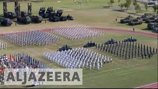 South Korea marks Armed Forces Day in show of strength against North