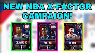 NEW NBA RETURNS X-FACTOR CAMPAIGN IN NBA LIVE MOBILE 20!!!