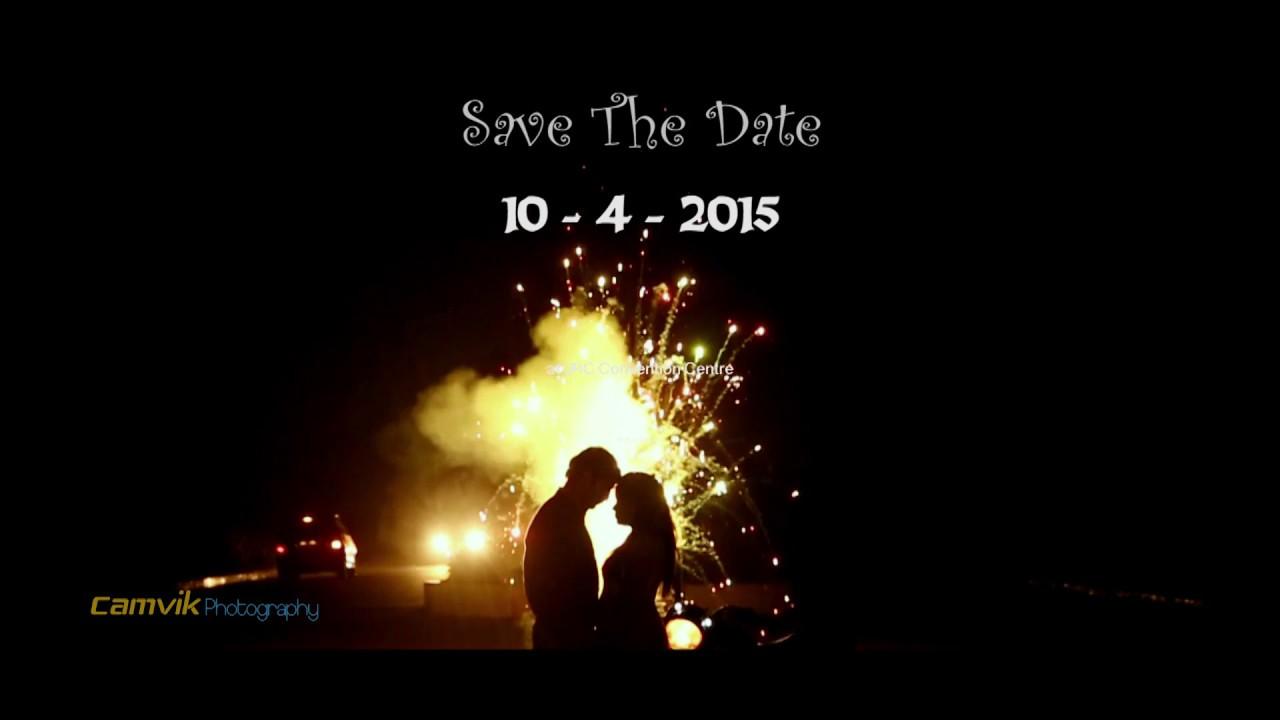 Anil Srujana Wedding Invitation Trailer Youtube