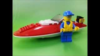 Lego City Speed Boat 4641 Review