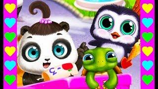 ЧТО ДЕЛАТЬ С ПАНДОЙ! Мультик про игры с малышкой пандочкой. Новые мультфильмы для детей.