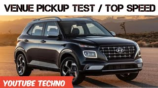 Hyundai Venue Test Drive Review 1L Turbo Petrol || Hyundai Venue, Speed test