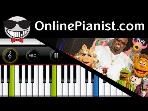 Cee Lo Green ft. The Muppets - All I Need Is Love [Christmas Album] - Piano Tutorial