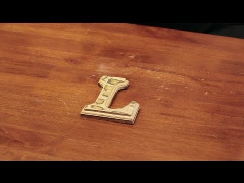 How To Decorate Wooden Letters With Scrapbook Paper Craft