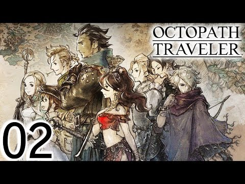 The Book Thief-Let's Play Octopath Traveler Part 2