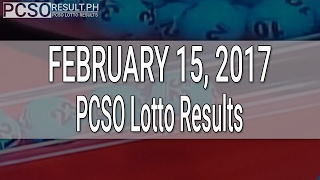 PCSO Lotto Results February 15, 2017 (6/55, 6/45, 4D, Swertres & EZ2)