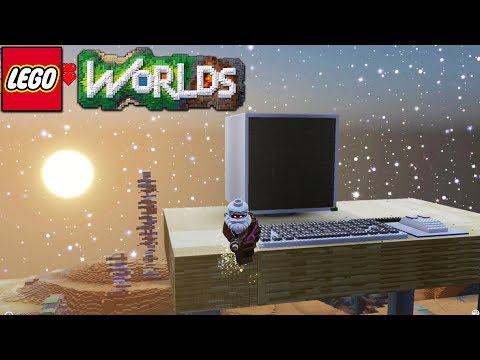 Lego Worlds - Giant Computer