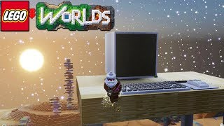 Lego Worlds - Giant Computer