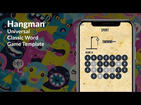 hangman universal classic word game template youtube
