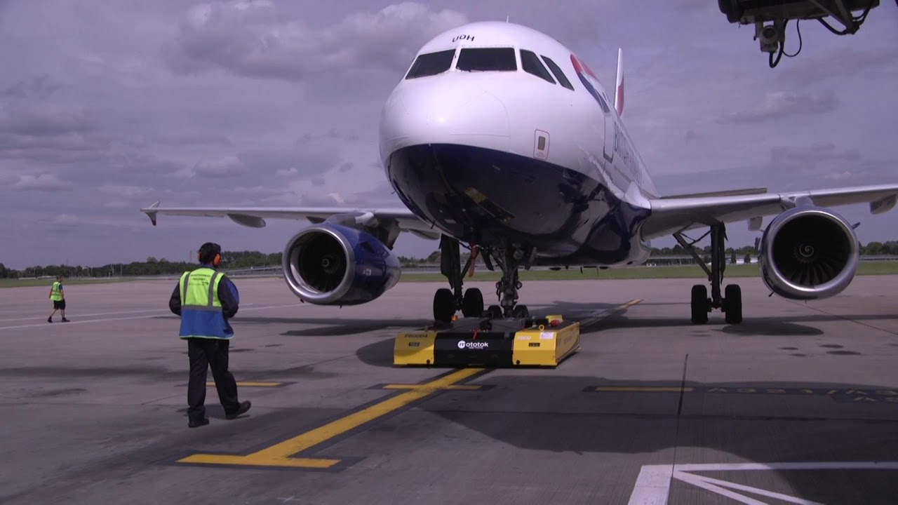 We tested British Airways' new robot that is reducing delays by 54 recommend