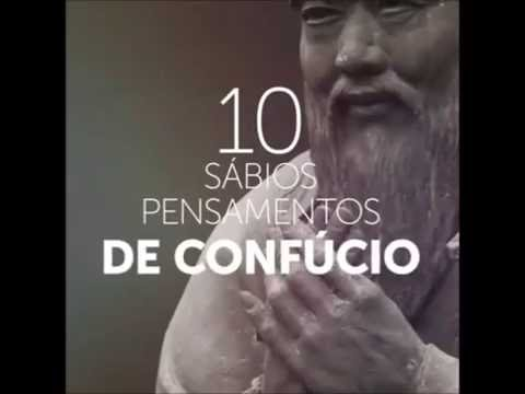 10 sábios pensamentos de Confúcio