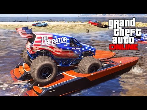 GTAV Online - ps3 - Ferry Boat Fun w/NGG Crew! - 7/5/14
